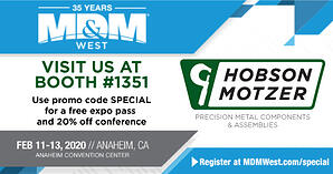 Hobson & Motzer-MDM-West-2020-Press Release