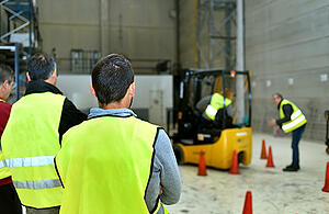 Safety in Medical Device Parts Manufacturing_forklift